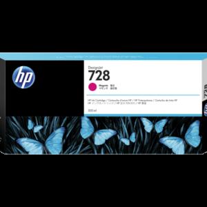 HP 728 Magenta inkt cartridge 300 ml