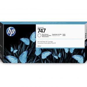 HP 747 Gloss enhancer inkt cartridge 300 ml