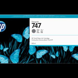 HP 747 Grijs inkt cartridge 300 ml