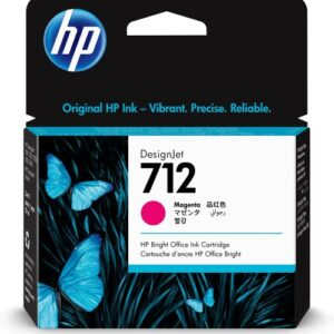 HP 712 Magenta inkt cartridge 29 ml