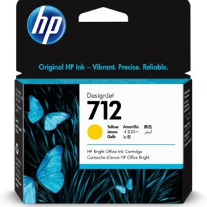 HP 712 geel inkt cartridge 29 ml